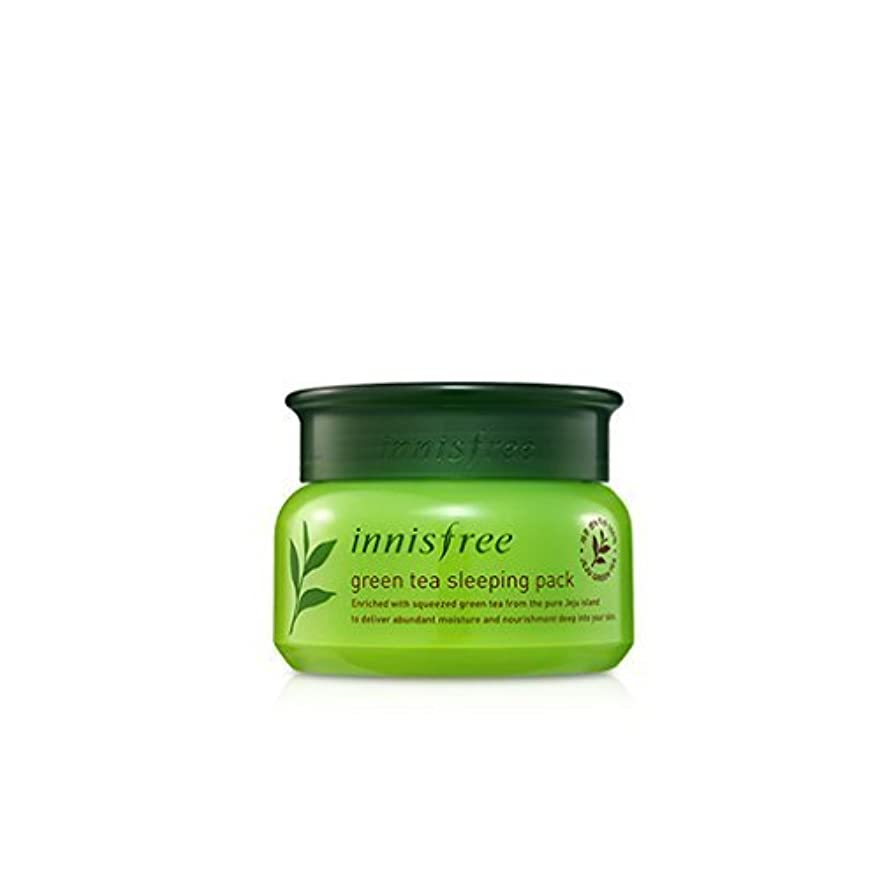 羊歌母[Innisfree] Green Tea Sleeping Pack 80 milliliter [並行輸入品]
