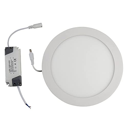 Downlight LED Redondo Empotrable, Potencia 18W, Color 3000K, 4000K y 5000K, Luz cálida, media y fría - LEDSON (5000k (Luz fría))