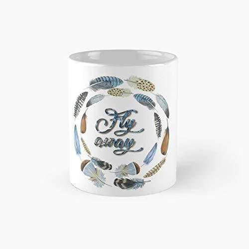 Taza clásica Fly Away con el mejor regalo divertida taza de café de 325 ml