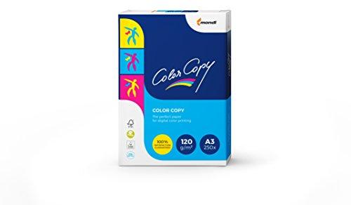 Mondi Color Copy Carta da Stampa, Formato A3, 120gr mq, 1 Risma da 250 Fogli