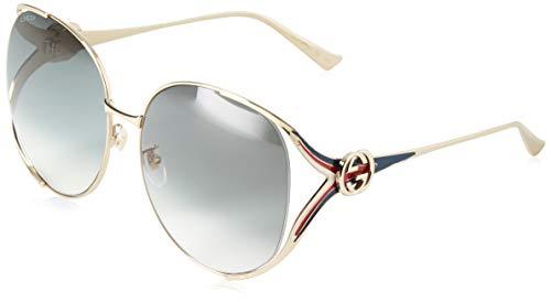 Gucci GG0225S Gold One Size