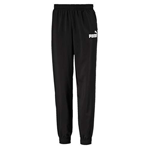 PUMA jongens ESS Logo Woven Pants cl B joggingbroek, zwart, 104