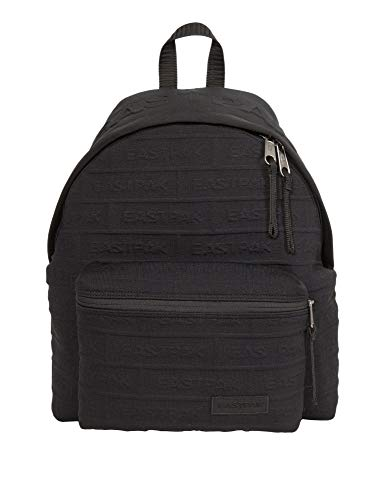 Padded Pak'r Backpack in Brandknit Black