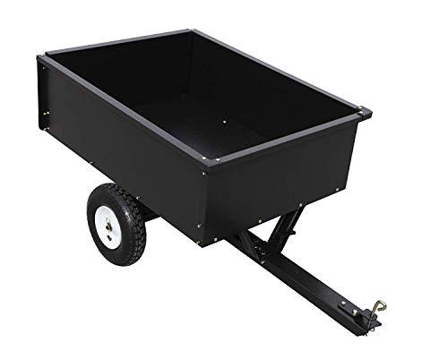 Blue Hawk 10-cu ft Carbon Steel Yard Cart