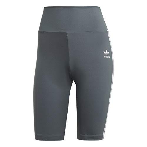 Adidas High Waist - Pantaloncini da donna Blueossido 42