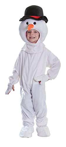 Bristol Novelty Costume de Bonhomme de Neige en Peluche, Medium, Approx Age 5-7 Years, CC251, Multicolore