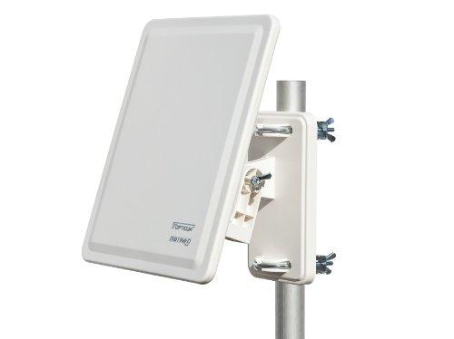 Opticum AX 800 digitale DVB-T Außenantenne mit Verstärker (32dB, DVB - T2 geeignet)