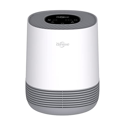isinlive Air Purifier for Home True HEPA Air Filter Cleaner