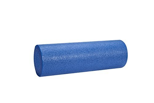 VLFit Rodillo de Masaje de Espuma de Fisioterapia, para Pilates, Yoga, Fitness, Gimnasio, recuperación de Dolores musculares - elección de Colores (Azul)