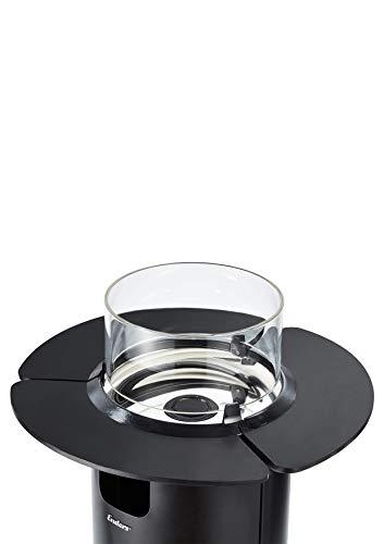 Enders Glas Table for fire Pit Nova, Black