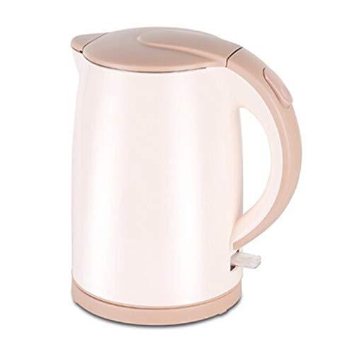 Tetera eléctrica de acero inoxidable 304 para cocina, hervidor de agua, de gran capacidad, calentador de agua pequeño (1,5 L)