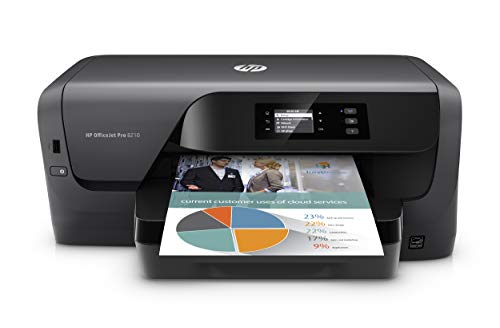 HP OfficeJet Pro 8210 Wireless Color Printer, HP Instant Ink or Amazon Dash replenishment ready (D9L64A) , Black