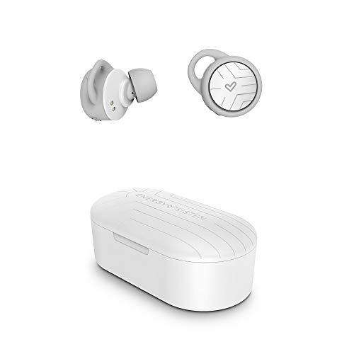 Energy Sistem Earphones Sport 2 True Wireless In-Ear-Kopfhörer (True Wireless Stereo, Bluetooth 5.0, Sport, Secure-Fit+) Weiß