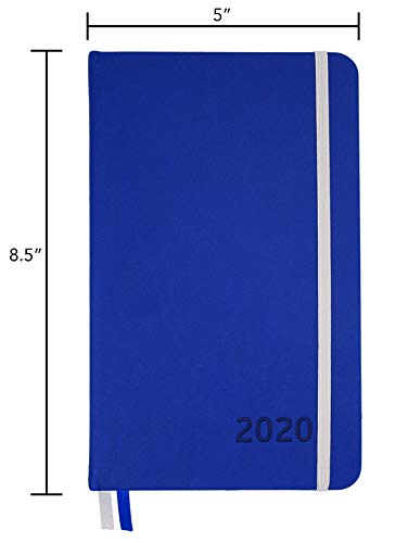 2020 Planner - Yearly, Weekly, Monthly, Daily Planner 2020-2021 with Calendar 2020-2021 Planner Organizer (Blue) | 2020 Weekly Planner 2020 Monthly Planner Yearly Planner 2020 Weekly Monthly Planner Photo #2