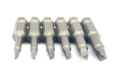 Silverhill Tools ABSTR6 Dreieckskopf/Dreikant Bit-Set (Power Bit Style) TA14, TA18, TA20, TA23, TA27, TA30, 6-teilig