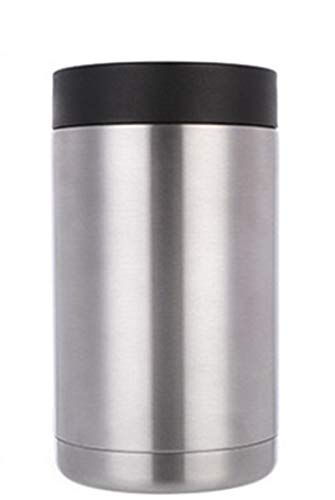 Gtell Can Insulator, Double Wall Stainless Steel Insulated Can Cooler, Beer Bottle Holder 12oz 16oz 20oz (16oz)