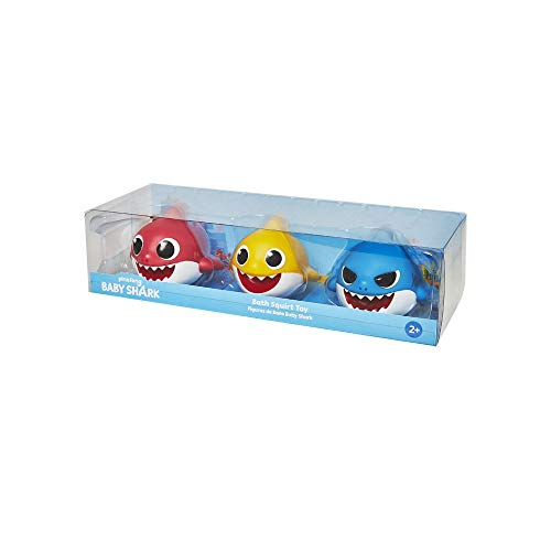 Baby Shark - Pack de 3 Figuras de Baño
