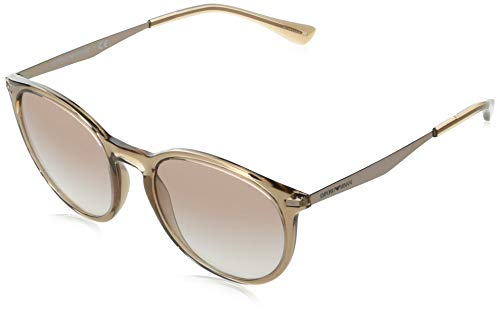 Emporio Armani Gafas de Sol EA 4148 Brown/Brown Shaded 54/20/145 mujer