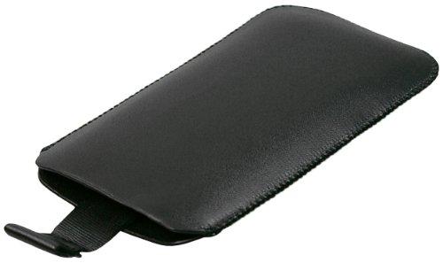 mumbi Tasche Huawei Ascend Y200 Leder Hülle Etui - Lasche mit Ausziehhilfe - 2