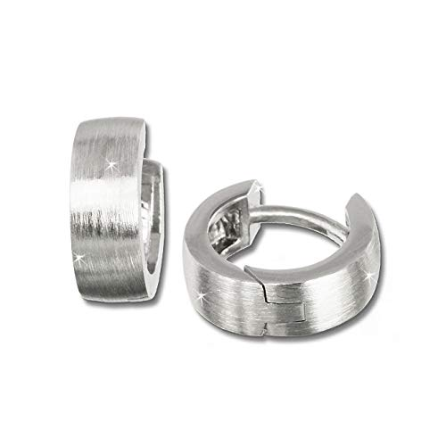 SilberDream Ohrringe Creolen 12mm 925er Echt Silber klein für Damen D2SDO333M2 ein schönes Geschenk zu Weihnachten, Geburtstag, Valentinstag für die Frau