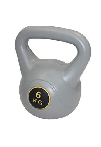 MaxxToys Kettlebell - Fitness Kugelhantel - Kunststoff - Blau - 6 kg