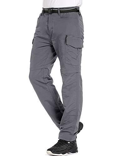 Quick Dry Lightweight Safari Fishing Cargo Pants Outdoor UPF 50 Jessie Kidden Hiking Pants Mens