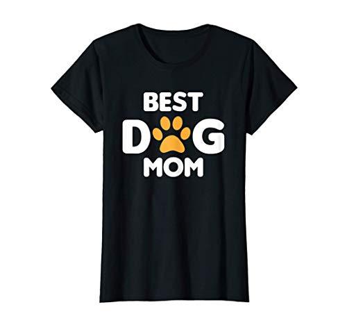 Mejor Perro Mamá Pata Divertida Mascotas Best Dog Mom Camiseta