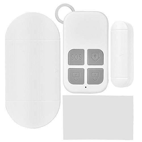 Diefstalwaarschuwingssysteem, duurzaam materiaal met 130 dB-alarmsterkte en afstandsbedieningsschakelaar voor deuren, vensterkasten, kluis, familie, winkels en bedrijven