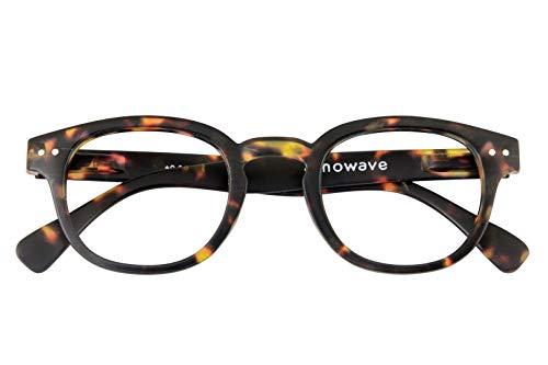 Occhiali neutri per PC, Tablet, TV | Occhiali riposanti ANTI LUCE BLU 40% | Maggior comfort e relax visivo da subito | Tartarugato Neutro