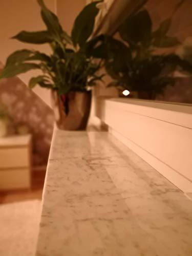 Innenfensterbank aus dem Marmor Bianco Carrara | Granitfensterbank | Marmorfensterbank | Ablage *MASSGEFERTIGT+