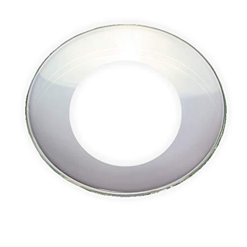 Tropfenfänger für Taufkerzen und Kommunionkerzen innen 4 cm aus Glas klar