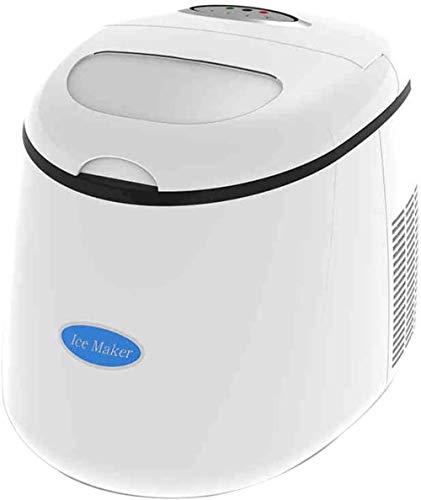 IJsblokjesmachine Huishoudelijk-kleine mini-ronde ijsblokjes-aanrechtblad IJsmachine-compact model IJs in uren voor studentenflat Koude Drankwinkel