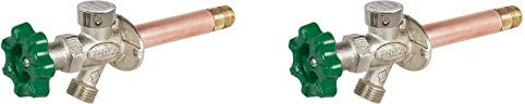 Prier P-164D12 Quarter-Turn Frost Free Anti-Siphon Outdoor Hydrant, 12-Inch