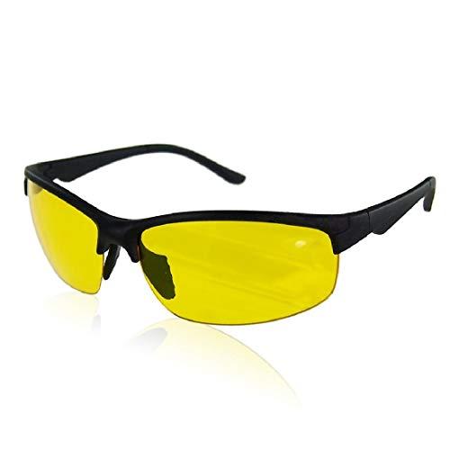 Boolavard Occhiali da guida notturni Antiriflesso, TAC polarizzati, visione notturna HD, lenti chiare, occhiali di sicurezza
