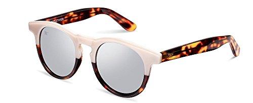 Wolfnoir Hathi Ace Bicome W Gafas de sol, Blanco/Azul, 45 Unisex