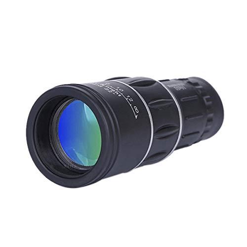 SANON Portátil Mini Aumento de 16X Telescopio Monocular de Zoom Ajustable Deportes Al Aire Libre Senderismo Camping Caza