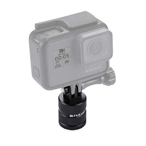 GoPro statiefadapter monteren 1/4 inch schroefgat statiefhouder CNC-adapter voor GoPro New Hero7/6/5/5 Session/4/3 +/3/2/1, DJI New Action, Xiaoyi en andere actiecamera