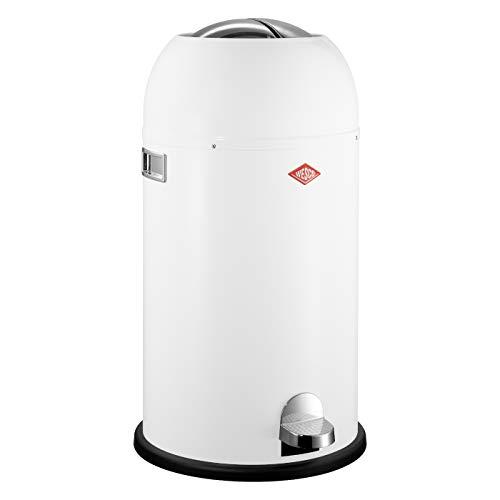 Preisvergleich Produktbild Wesco 184 631 Kickmaster Abfallsammler 33 Liter weiß