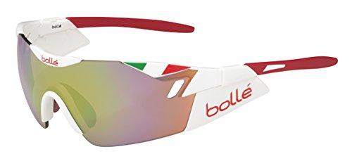 Bollé Lunettes de Soleil 6th Sense Tricolore Italia (Blanc)
