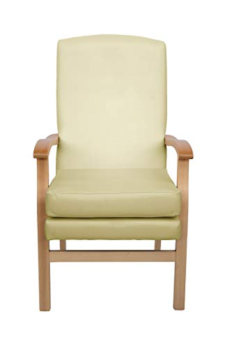 Mawcare Deepdale Orthopaedic High Seat Chair - 21 x 20 Inches [Height x Width] in Manhattan Cream (lc48-Deepdale_m)