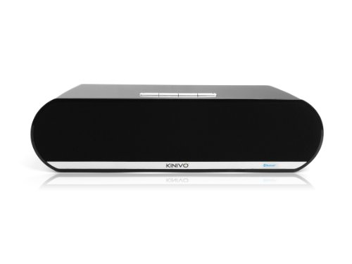 Kinivo BTX450 Premium Bluetooth Boombox with Powerful 10W Dual Drivers and Passive subwoofer