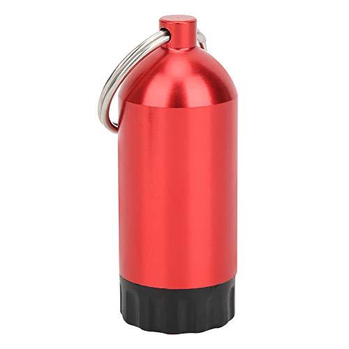 frenma Botella de Almacenamiento de Cilindro de Buceo, O Anillos de Cilindro de Buceo, Botella de Cilindro de Buceo, para válvulas de Cilindro Buceo Natación(Red)