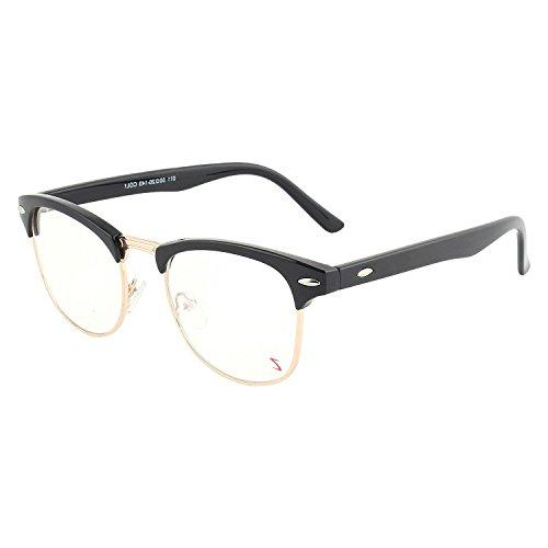 Abner Black Clubmaster Unisex Eyewear Frame 15