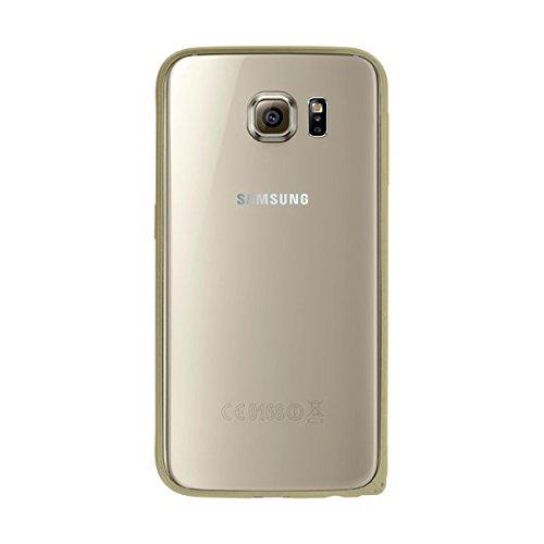 BigBen BC310778 Metal Schutz-Bumper in Gold für Samsung Galaxy S6 SM-920F