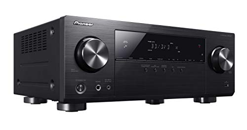Pioneer VSX-531 5.1-CH AV Receiver with Bluetooth, MCACC Automatic Calibration, 4 HDMI In, 3D & 4K UHD Pass-through with HDCP 2.2, 4K Upscaling, HDR Support, Dolby TrueHD, DTS-HD, Hi-Res Audio & USB