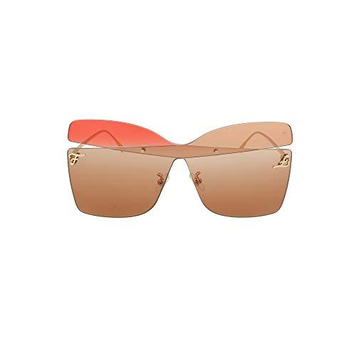 FENDI Gafas de Sol KARLIGRAPHY FF 0399/S GOLD/RED PINK BROWN 99/1/145 mujer