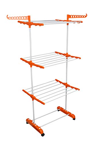 TNC 3 Layer Stainless Steel Cloth Drying Stand