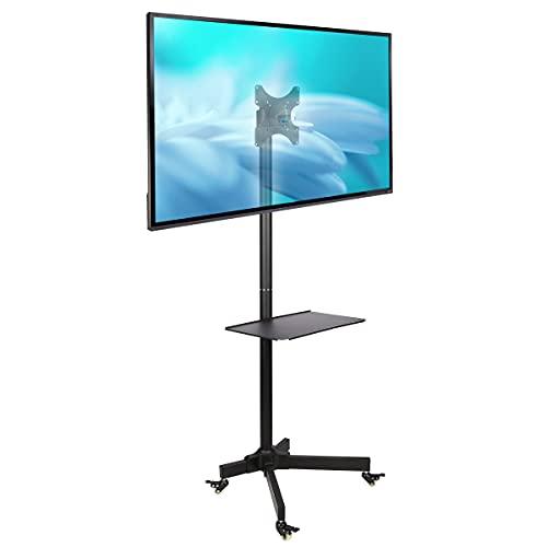 Supporto a Rullo Regolabile per TV LCD LED 19  - 37 , Nero
