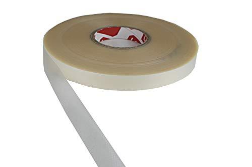 Tukan-tex Naht Dichtungsband Wasserdicht Beschichtete Stoffe – Reparatur-Klebeband Eisen auf (transparent 20 mm Breite) (5 Meter)