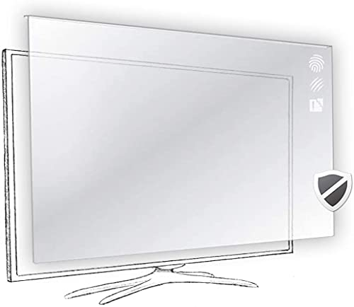 55 pulgadas Vizomax protector de pantalla de la televisor LCD LED Plasma HDTV. TV Screen Protector Cover Guard Shield